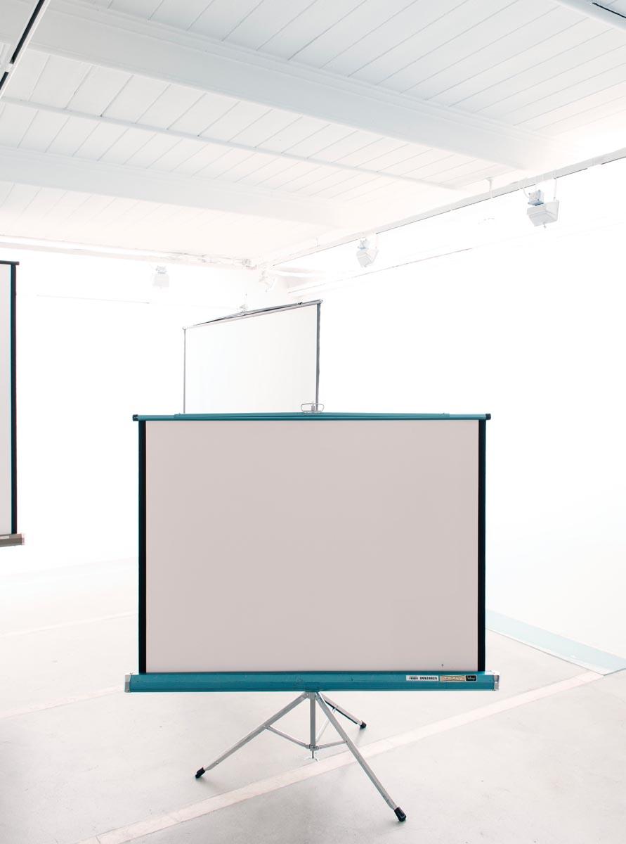 Ausstellungsansicht: Screens