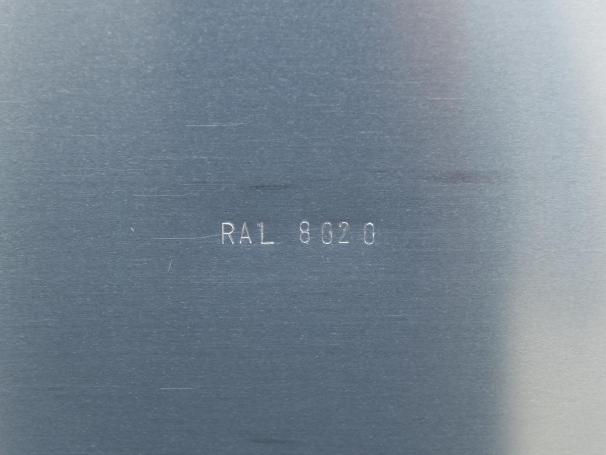 Detail: Ribbons (RAL 8020)
